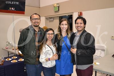 Mike Cabral, Christina Tostado, Kimberly Evans and Victor Estrada