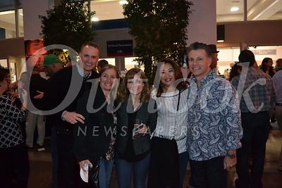 Paul and Carmen Sirois, Monica Mirasol with Christine and Rafael Pando