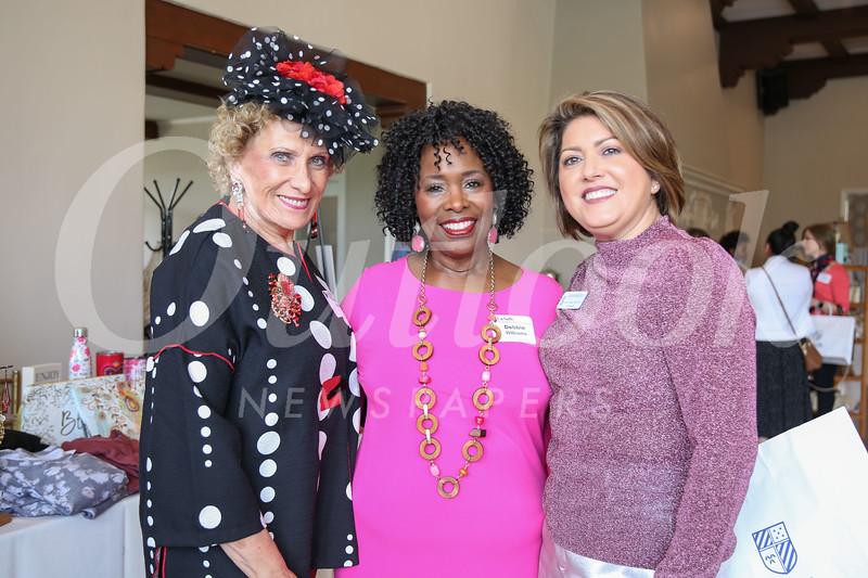 Patricia Harris, Debbie Williams and Lisa Urbina