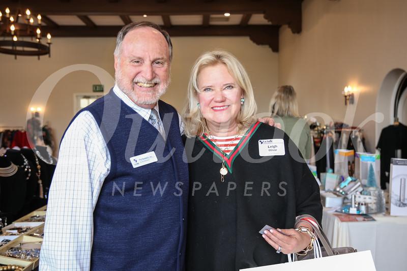 Interim President Patrick Bonacci and Leigh Olivar