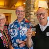 Kathy and Bob Wilson with Keith Brown