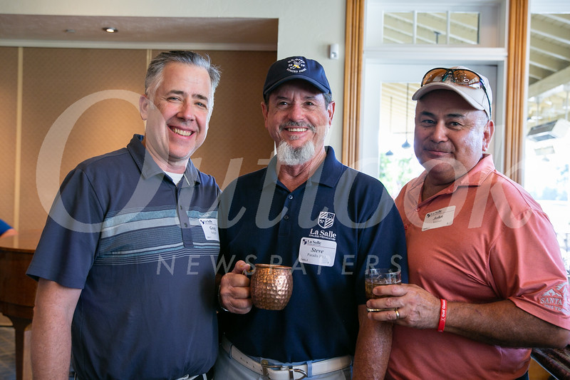 Greg Seright, Steve Paradis and John Suarez