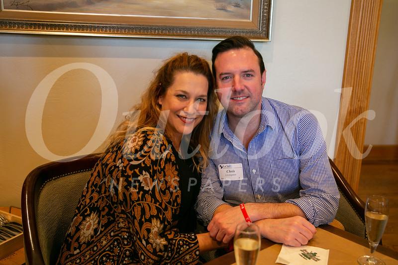 Laura Agajanian and Chris Livingston