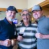 Steve Paradis, Harry Agajanian and Dean Griffith
