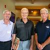 Mike Sullivan, Jim Thomson and Mike Moran