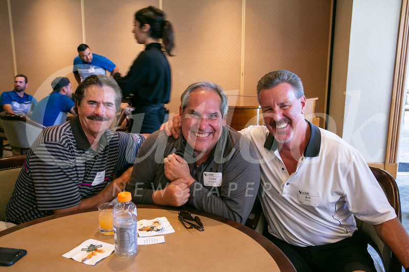 Frank Enterante, Victor Rodriguez and Bob Mulick