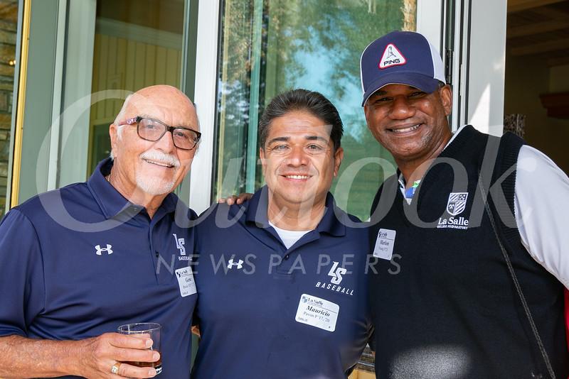Gene Brock, Mauricio Pavon and Marlon Young