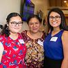 Christina Flores, Yadira Bella and Andrea Flores