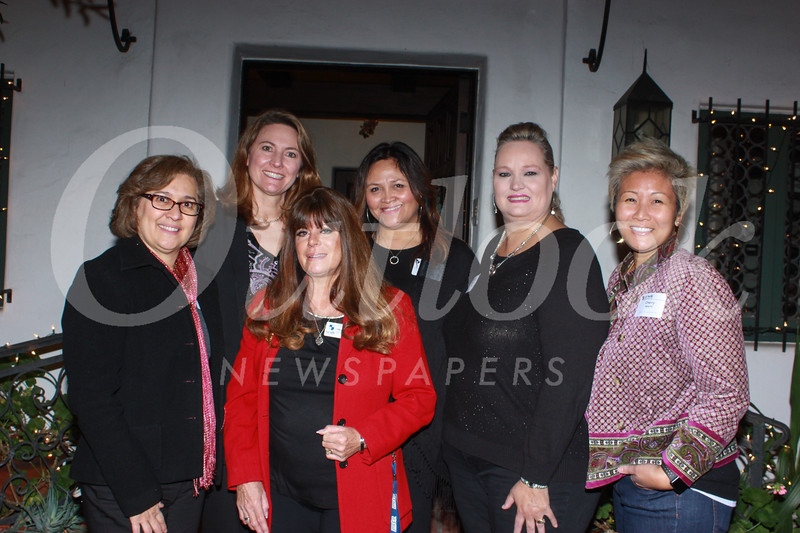 Patricia Robidoux, Cheryl Allen, Ellen Radle, Carol Kirland, Susy Rettig and Cherry Agapito