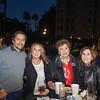 Israel Juarez, Michelle Rosen, Cecilia Del Villar and Beth Nadel