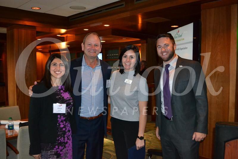Shiva Sattar, Clay Sandidge, Dani Perry and Legacy Foundation Executive Director Dedan Brozino