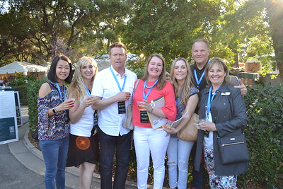 Sherry Lin, Giusy and Scott Brown, Natalie Wycoff, Anne Kislingbury, Vance Weisbruch and Judy Pastor