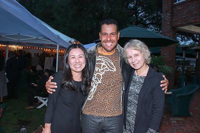 Felicia Yu, Mike Ridaoui and Sanja Morris