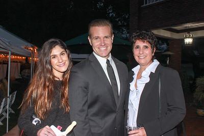 Andrea Najarian, Eric Strong and Carla Najarian