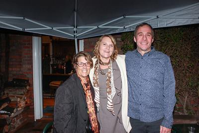 Judy Kirshner, Camille Cimino and James Brodhead