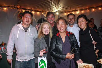 Andre Lee, Joanna Gardner, Larry Reed, Shirley Flores, Doug Hollier and Jina Lee