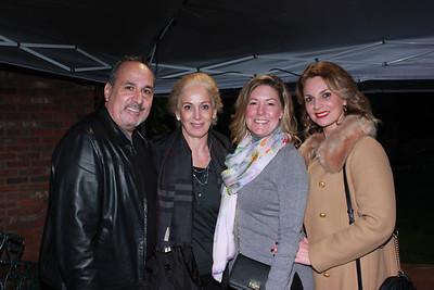 Ed and Araxy Afsharian, Michele Giffin and Blanca Cuellar