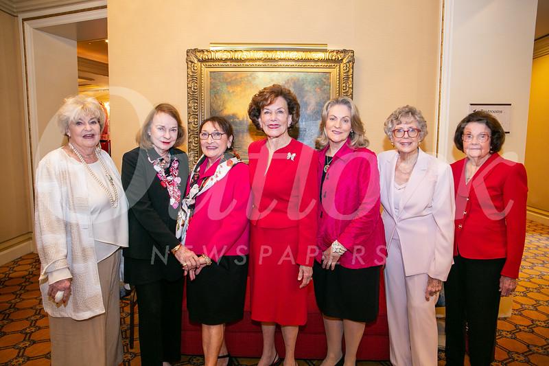 Gail Titus, June Banta, Fran Biles, Mona Maple, Maureen Sprunger, Winnie Reitnouer and Mary Cooper