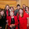 Rachael Worby, Terri Kohl, Judy Beckmen, Carol Henry, Ileana Cataldo, LeeAnn Havner with honoree Alyce de Roulet Williamson (front center) and Annette Ermshar