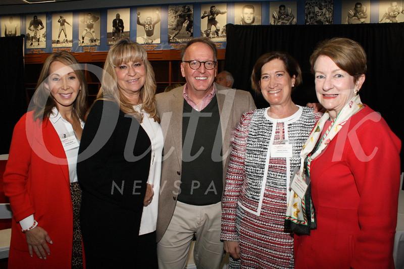 Josette Wolf, Lori Ramirez, David and Laurie Turner, and Tink Cheney