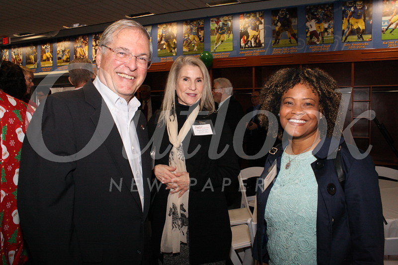 Mayor Terry Tornek, Gazelle Wichner and Felicia Williams