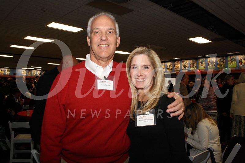 John Menne and Erin Gilmore