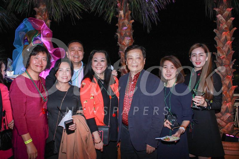 Annie Han, Ana Azer, Hunter Chang, Lulu Yuan, former Hospital Foundation board chair Dr. Richard Sun, Irene Shen and Iris Yang