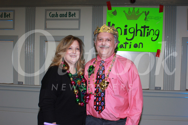 King and Queen of Mardi Gras 2019 Hope and Dr. Dino Clarizio