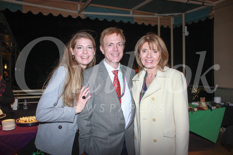 Tara Knabenshue with Marty and Joanna O'Toole