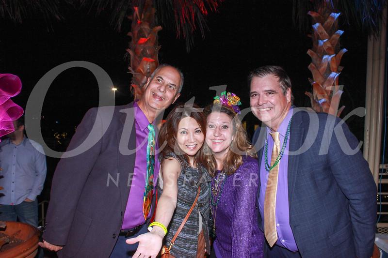 Dr. David Ratto, Rachel Lin, Julie and Tom Brady