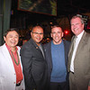 Shone Wang, former Mardi Gras event chair Lindburgh McPherson, Michael Demoratz and hospital President & CEO Dan Ausman