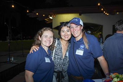 Lisa Byrne, Yunjin Kim and Melissa White
