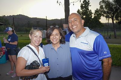 Kathy Labagh, Teresa Villegas-Galaviz and David Galaviz