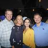 Joe and Kelly Self with Leah and Brent Mason
