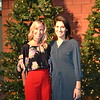 Holiday luncheon co-chairs Leandra Hinrichs and Mary Cole
