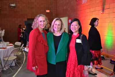 Kate Candelora, Kristin Tjorell and Vicki Chiang