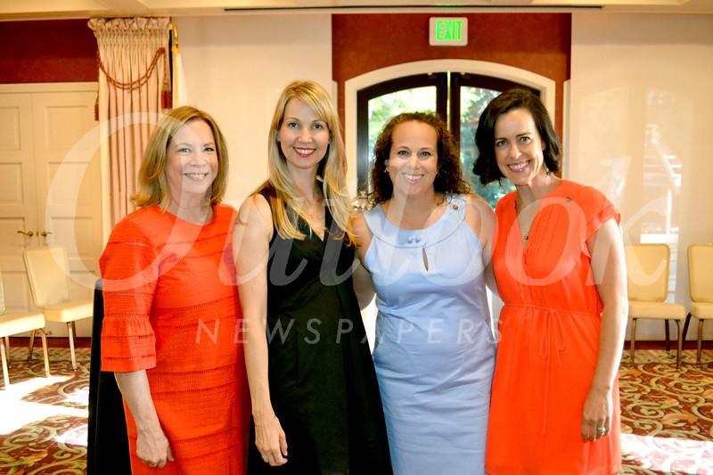 Brigid Brahos, Caroline Borncamp, Jennifer Neumayer and Stacey Francis
