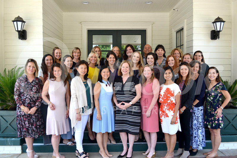 2019-20 Parents Association Board: Heather Sanderson (front row, from left), Christina Comer, Julie Wong, Vicki Chiang, Brigid Brahos, Julie Soma, Priscila Stanton, Tracy Kao, Elizabeth Walters and Colleen Heath. Middle row: Karina Arabolaza, Rebekah Wong, Leandra Hinrichs, Mary Cole, Heather Chen, Tess Henderson, Rana Awad, Nicole von Thaden and Cristina Romero. Back: Tiffany Akasaki, Kathryn Gordon Smith, Karen Limongelli, Kelly Self, Kristin Cook, David Galaviz, Helen Wu and Cara Bates.