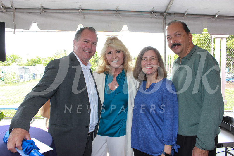 Steve and Karen Sherman with Valerie and George Leiva