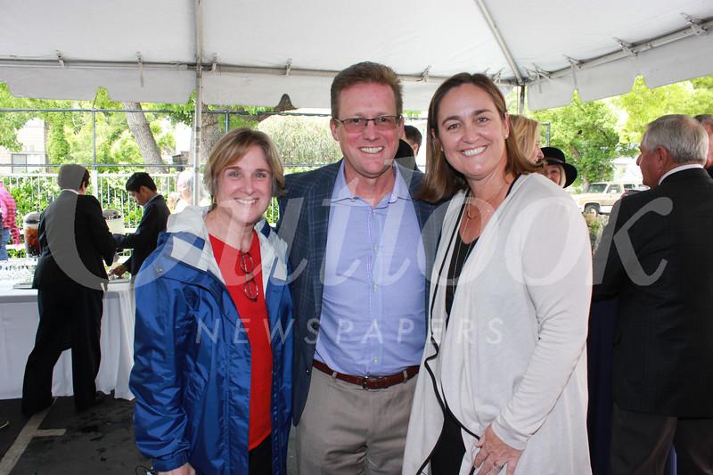 Kathy Sweeney with Mark Gamble and Alison Jones Gamble