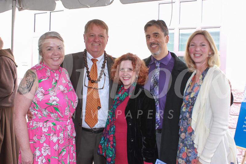 Sarah and Joe Gill, Bridget Kelley-Lossada, Carlos Lossada and Chelsey Page