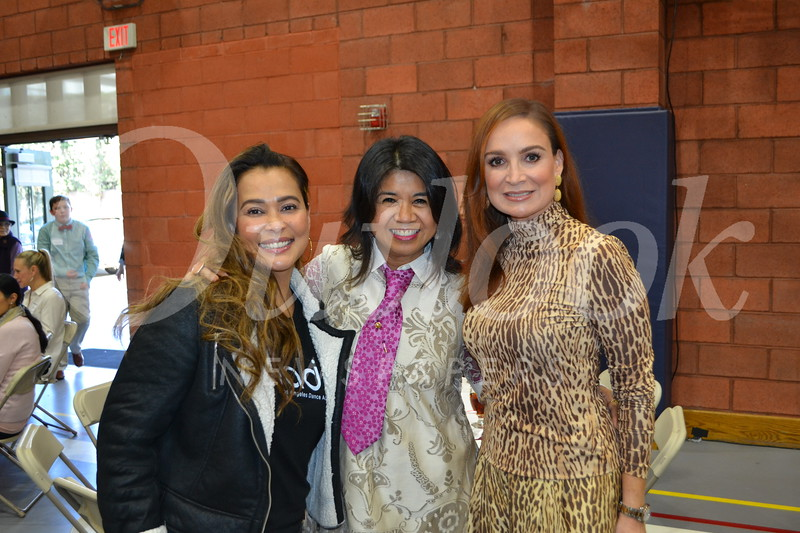 Michelle Marquez, Natty Bower and Liliana Patino