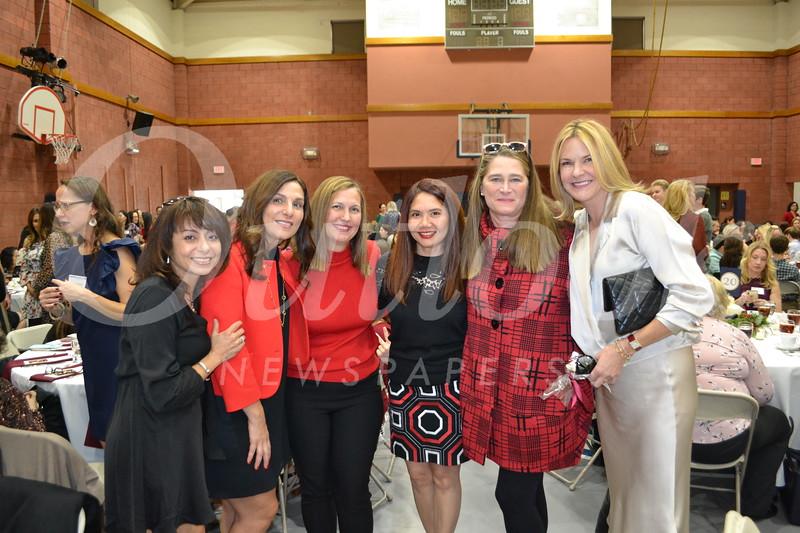 Linda Griffin, Yvonne Riley, Nicole VonThaden, L.T. Zirn, Lyn Salembier and Stacey Conzonire