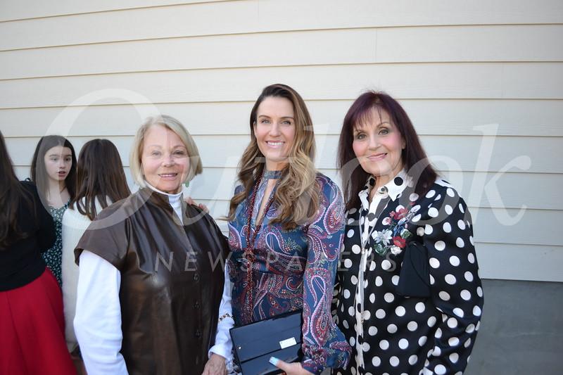 Kathy and Tammy Regan with Diane St. Germain