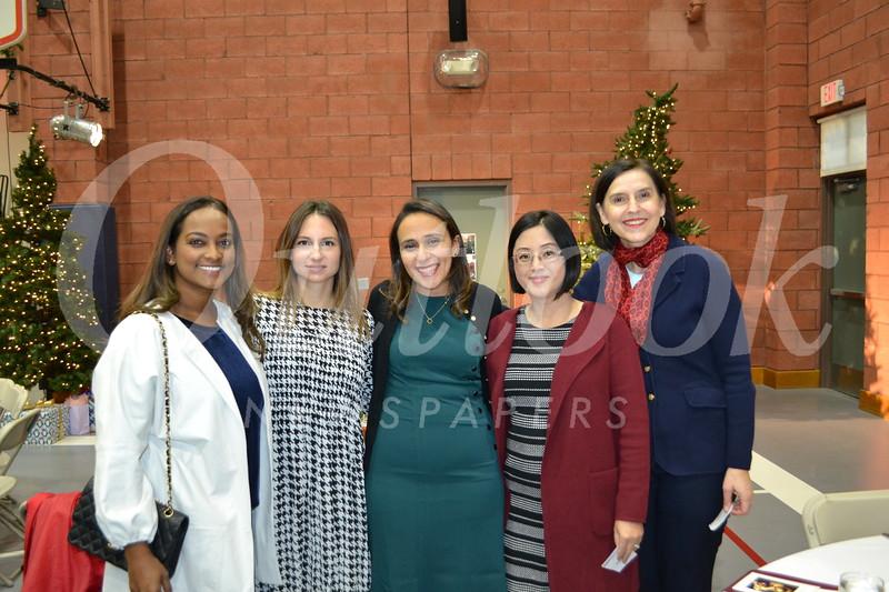 Nalini Love, Merissa Amin, Elizabeth Iskander, Michelle Hai and Maria Pesheva