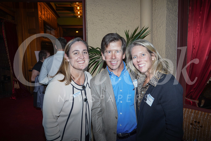 Alison Gamble with Ken and Kim Klosterman