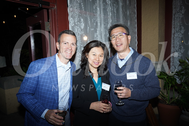 Chad Norton, Julie Wong and Eugene Tsai