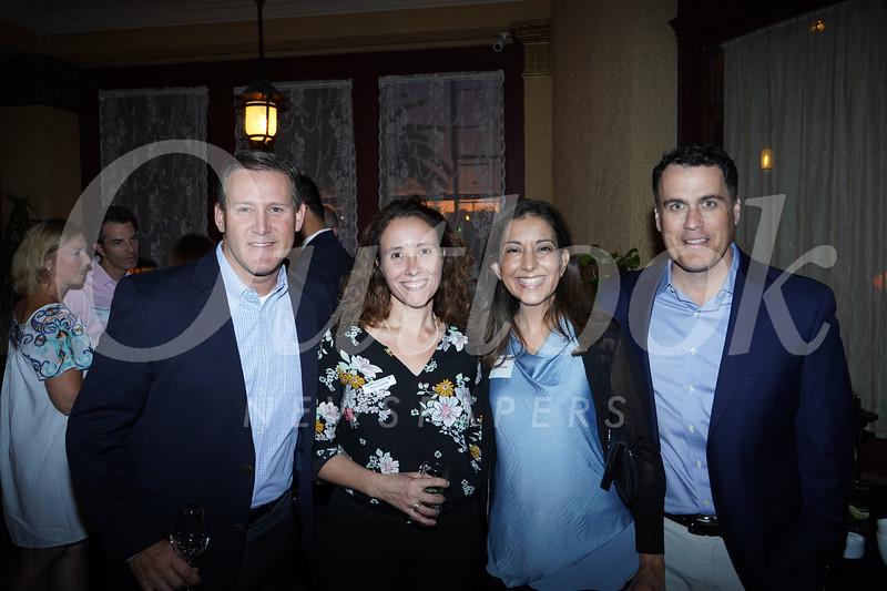 Hunt Salembier, Anna Longstaff, and Luz and Scott McBride