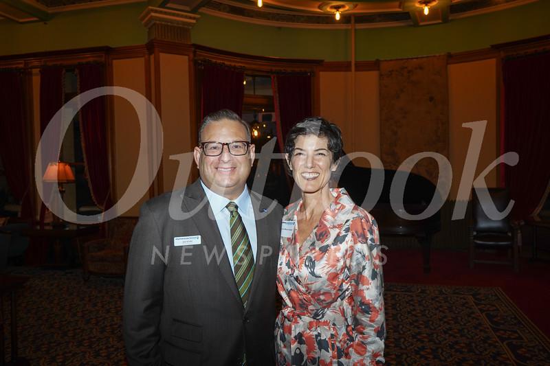 Head of School Joe Sciuto and Marcie Gilbert Sciuto