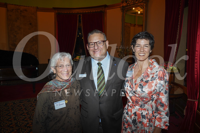 Frances White, Joe Sciuto and Marcie Gilbert Sciuto